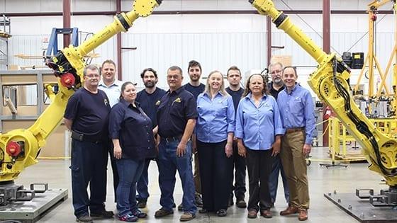 Antenen Robotics team of experienced robotic engineers, technicians, and sales reps