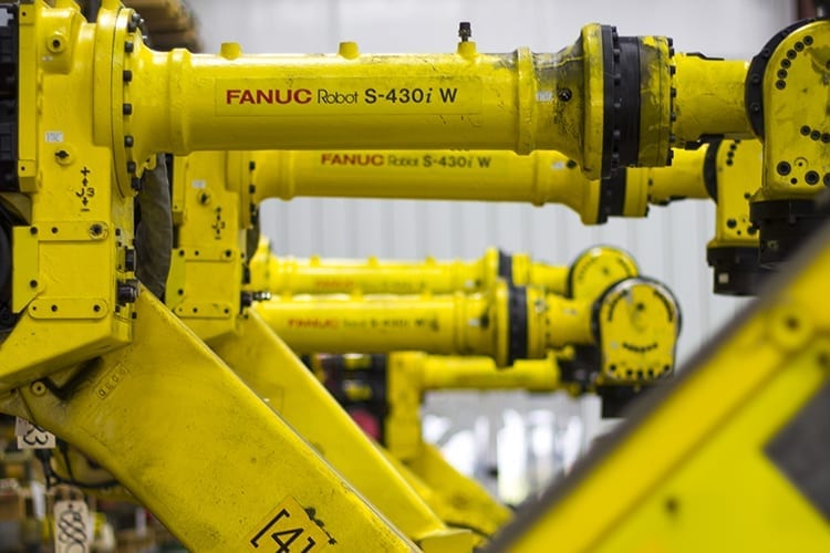 Sell your used industrial robots