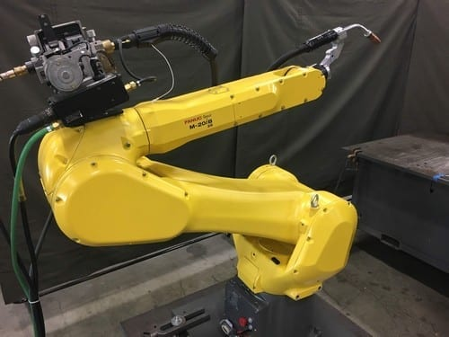 Fanuc M-20iB/25 R30iB With a welding attachment