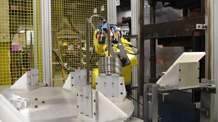 Fanuc Robotic Machine Tending