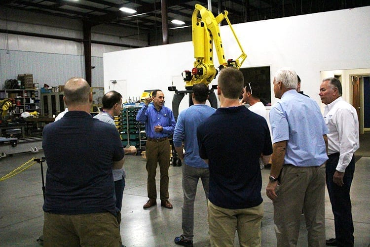 Fanuc Robot training