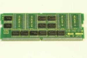 FANUC, .5mb CMOS SRAM DAUGHTER BOARD, A20B-2902-0211, RJ2