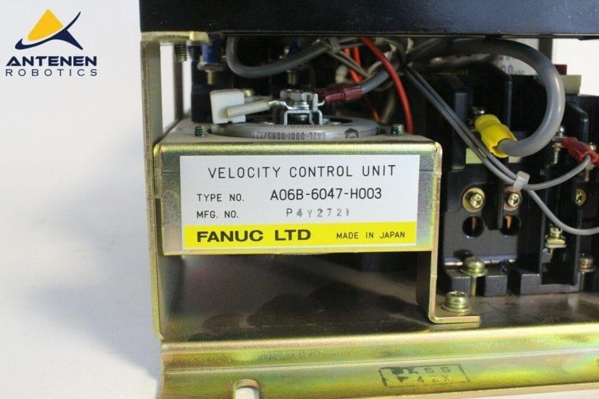 Fanuc, Velocity Control Unit, A06B-6047-H003, RC, RF