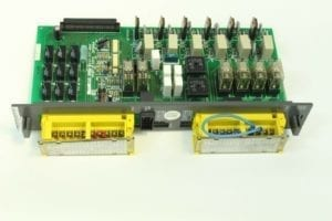 FANUC, CIRCUIT BOARD, A16B-1212-0540, EMERGENCY BRAKE/STOP CONTROL BOARD, RJ