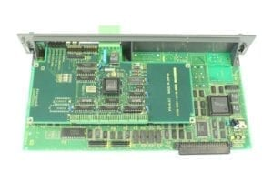 FANUC, CIRCUIT BOARD, A16B-2201-0890, REMOTE I/O GENIUS ETHERNET BOARD, RJ, RJ2