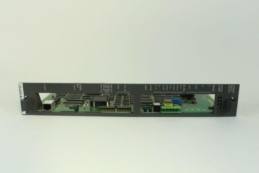 FANUC, CIRCUIT BOARD, A16B-2203-0292, REMOTE I/O ETHERNET BOARD, RJ2